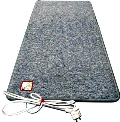 Coldbuster heated foot mat
