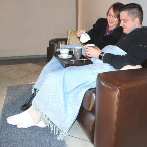 Electric Heated Foot Warmers - Couples Buddy from Coldbuster DIY Floor Heating