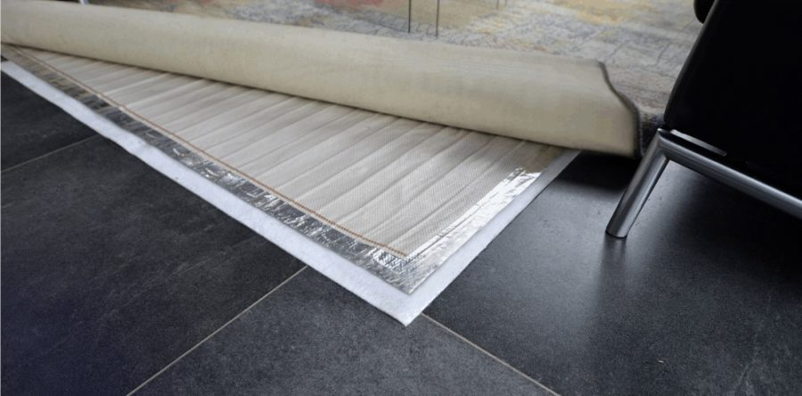 Quick underfloor heating options with rugbuddy Heating options