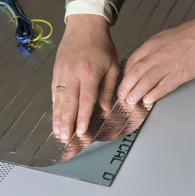Colduster Demister with self adhesive