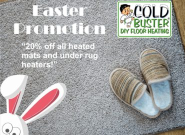Heated Footmats Easter Promotion