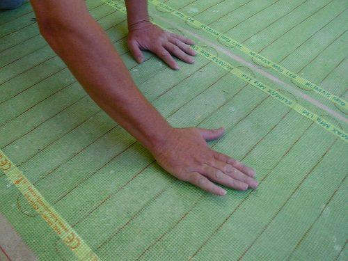 Floor Heating Under Tile Installation using Coldbuster DIY Floor Heating Kits